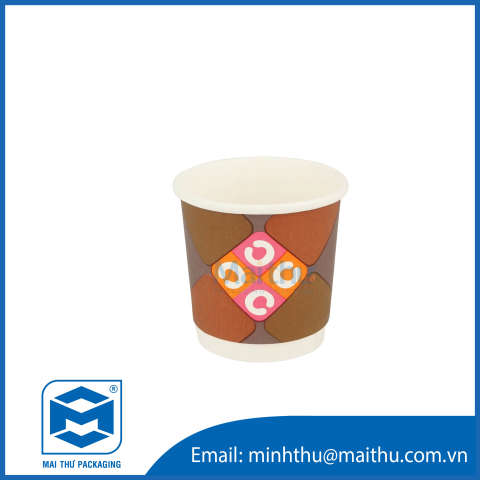 Douple Wall Cup 4 OZ (62x45x60) mm - 1