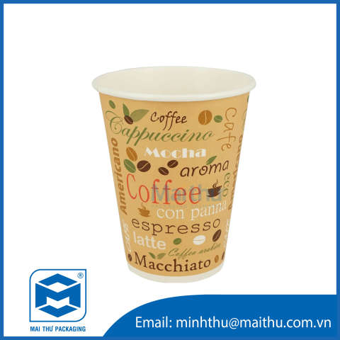 Hot Cup 12 OZ (90x60x110)mm - 1
