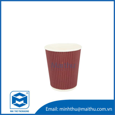 Ripple Wall Cup 08 OZ (80x56x92) mm - 1