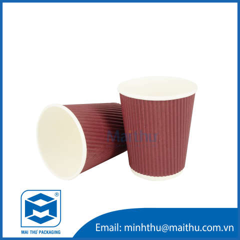 Ripple Wall Cup 08 OZ (80x56x92) mm - 2
